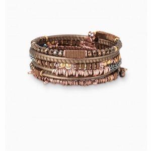 NIB Stella & Do Jarne Coil Bracelet